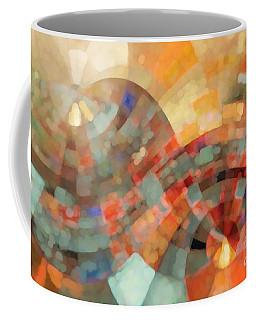 Christian Art- My Refuge Deuteronomy 33 27  Coffee Mug