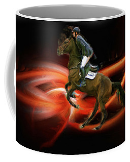 Christian Heineking On Horse Nkr Selena Coffee Mug