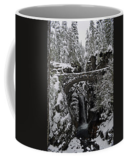 Christine Falls In The Winter Coffee Mug by Tikvah's Hope