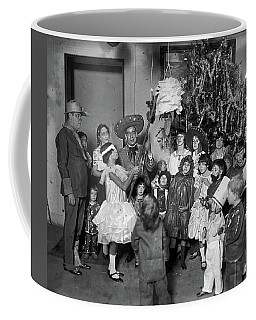 Coffee Mug featuring the photograph Christmas, 1925 by Granger