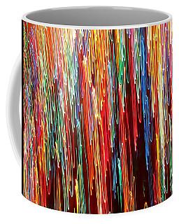 A Rainbow Melting  Coffee Mug