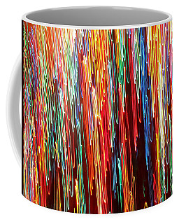 A Rainbow Melting  Coffee Mug