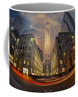 Christmas At Rockefeller Center Coffee Mug
