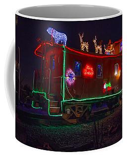 Christmas Caboose  Coffee Mug