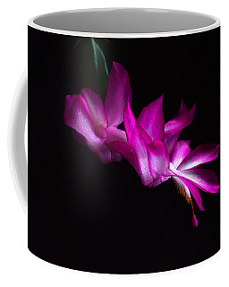 Coffee Mug featuring the photograph Christmas Cactus Blossom by Bill Swartwout