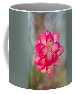 Christmas Cactus Bokeh Coffee Mug