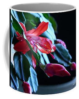 Christmas Cactus In Bloom Coffee Mug