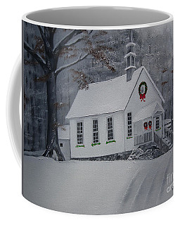 Christmas Card - Snow - Gates Chapel Coffee Mug