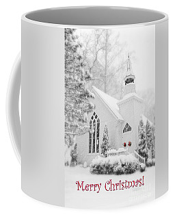 Historic Church Oella Maryland - Christmas Card Coffee Mug