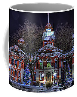Christmas Courthouse Coffee Mug