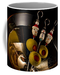 Christmas Crowded Martini Coffee Mug by Ron White