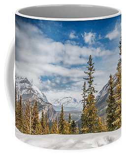 Christmas Day In Banff Coffee Mug
