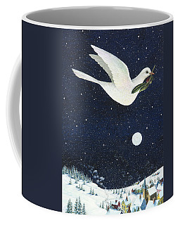 Christmas Dove Coffee Mug