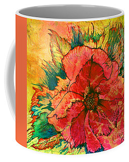 Christmas Flower Coffee Mug