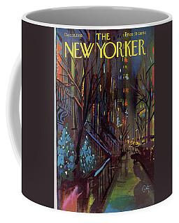 Christmas In New York Coffee Mug