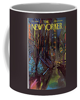 Christmas In New York Coffee Mug