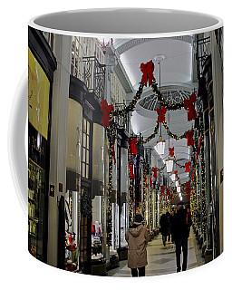 Christmas In Piccadilly Arcade Coffee Mug