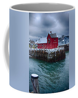 Christmas In Rockport Massachusetts Coffee Mug