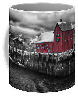 Christmas In Rockport New England Coffee Mug