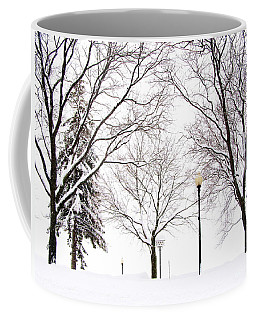 Coffee Mug featuring the photograph Christmas In Skaneateles by Margie Amberge
