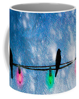 Coffee Mug featuring the photograph Christmas Lights by Bob Orsillo