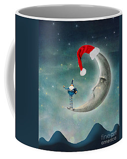 Christmas Moon Coffee Mug