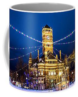 Christmas On The Square Coffee Mug