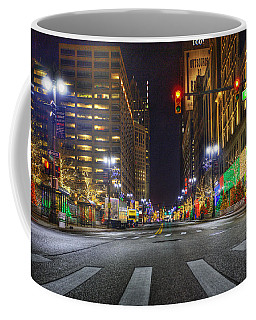 Christmas On Woodward Coffee Mug