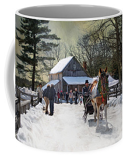 Christmas Paint Coffee Mug
