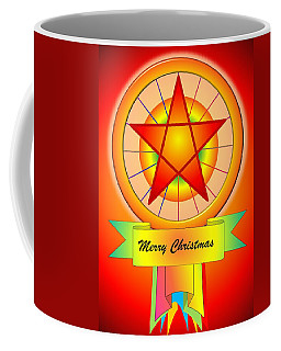 Christmas Parol Coffee Mug by Cyril Maza