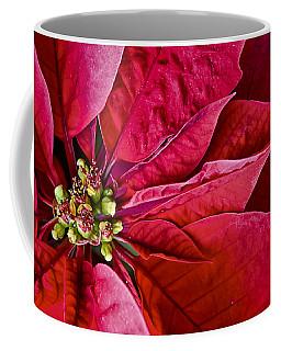 Christmas Petals Coffee Mug