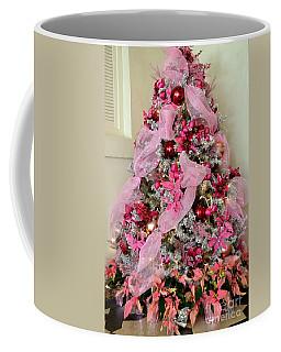Christmas Pink Coffee Mug