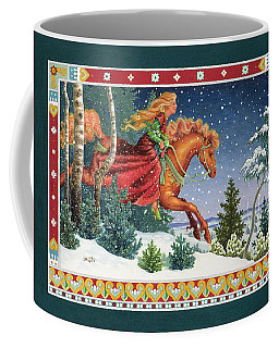Christmas Ride Coffee Mug