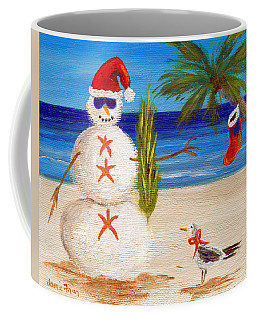 Christmas Sandman Coffee Mug by Jamie Frier