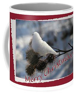 Christmas Snow Bird Coffee Mug