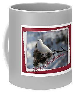 Christmas Snow Bird Coffee Mug