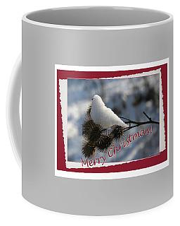 Christmas Snow Bird Coffee Mug by Terri Harper