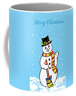 Christmas Snowman Coffee Mug