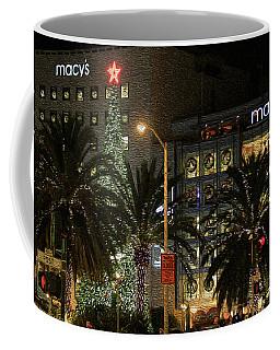 Christmas Tree At Union Square Coffee Mug