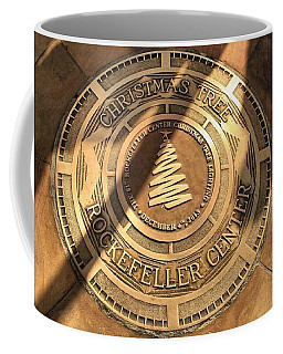 Christmas Tree In New York City Coffee Mug