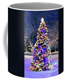 Christmas Tree In Snow Coffee Mug