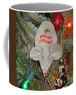 Coffee Mug featuring the photograph Christmas Tree Mouse by Joseph Baril