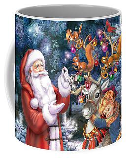 Christmas Tree-rudolph Coffee Mug
