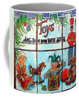 Christmas Window Coffee Mug