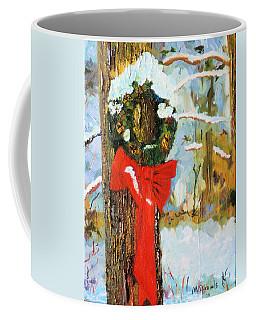 Christmas Wreath Coffee Mug