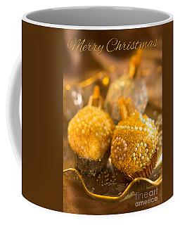 Christmasball Cupcakes With Greetings Coffee Mug