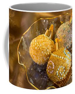 Christmastree Cupcakes On Gold Coffee Mug
