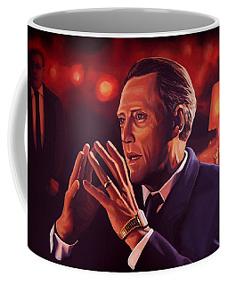 Christopher Walken Painting Coffee Mug