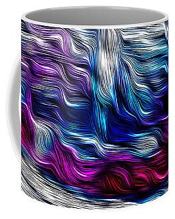 Chrome Waves Coffee Mug by Bill Kesler