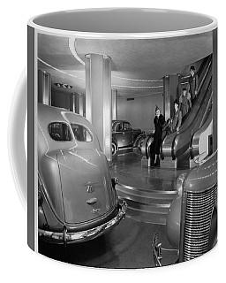 Chrysler Building Car Showroom Coffee Mug